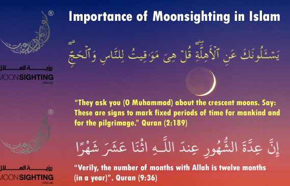 Importance of Moon Sighting