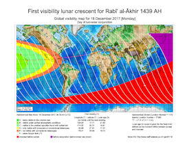 Visibility Map for Rabi-ul Thani 1439 AH (a)