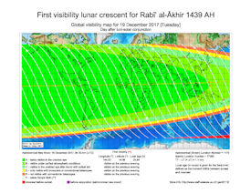 Visibility Map for Rabi-ul Thani 1439 AH (b)