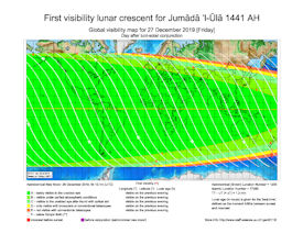 Visibility Map for Jumada Al-Ula 1441 AH (b)